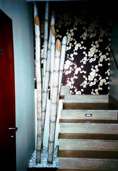 Decorazioni con canne di bambu pannelli termoisolanti for Canne di bambu per arredamento