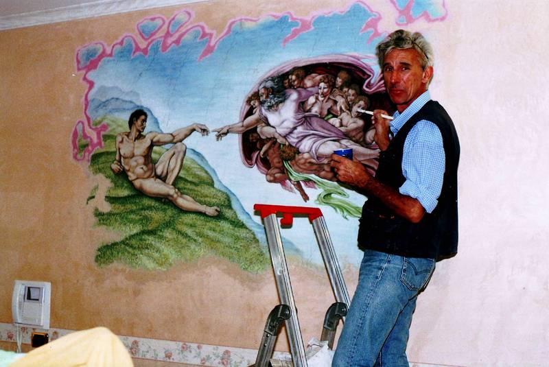 Decorazioni a roma pittura e decorazioni su pareti for Decorazioni muro