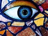 decorazione artistica occhio