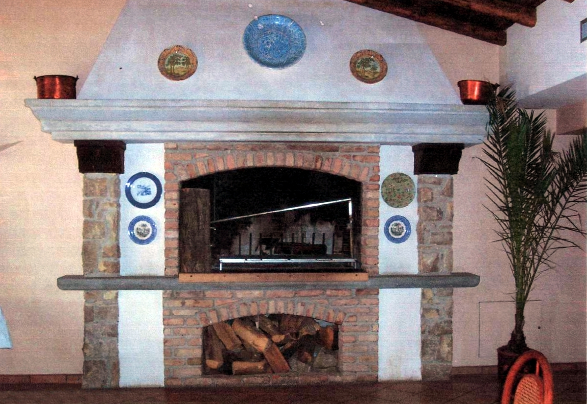 Forni e camini a roma forni a legna e camini artigianali in muratura - Forni elettrici da esterno ...