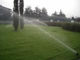 l'irrigazione del giardino