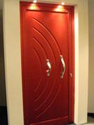 Porta d'ingresso rossa