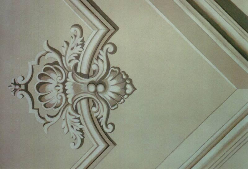 Decorazioni a roma pittura e decorazioni su pareti - Decorazioni soffitto ...
