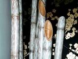 decorazione artistica canne di bambu