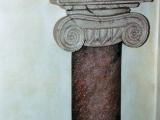 decorazione artistica colonna