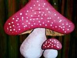 decorazione artistica fungo