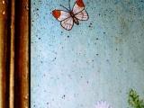 decorazione artistica su legno