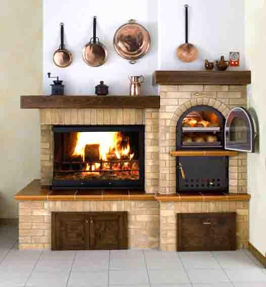 Forni e camini a roma forni a legna e camini artigianali in muratura - Camini da esterno in muratura ...