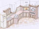 progettazione-cucina-in-muratura